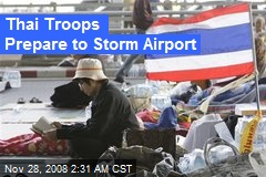 Thai Troops Prepare to Storm Airport