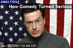 How Comedy Turned Serious
