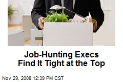 Job-Hunting Execs Find It Tight at the Top