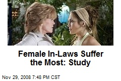 Female In-Laws Suffer the Most: Study