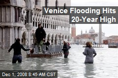 Venice Flooding Hits 20-Year High