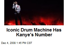 Iconic Drum Machine Has Kanye's Number
