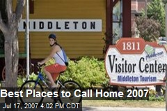 Best Places to Call Home 2007