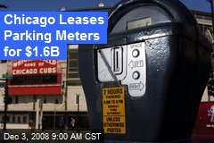 Chicago Leases Parking Meters for $1.6B