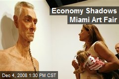 Economy Shadows Miami Art Fair
