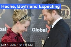 Heche, Boyfriend Expecting