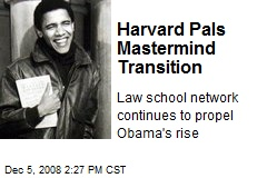 Harvard Pals Mastermind Transition