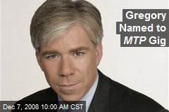Gregory Named to MTP Gig