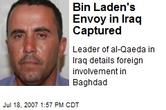 Bin Laden's Envoy in Iraq Captured