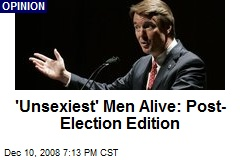 'Unsexiest' Men Alive: Post-Election Edition