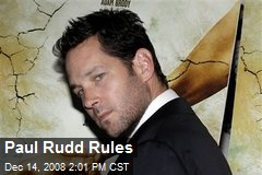 Paul Rudd Rules
