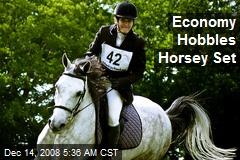 Economy Hobbles Horsey Set