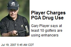Player Charges PGA Drug Use