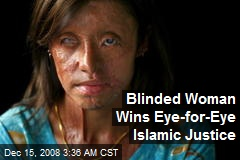 Blinded Woman Wins Eye-for-Eye Islamic Justice