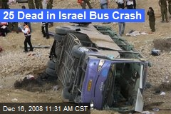 25 Dead in Israel Bus Crash