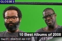 10 Best Albums of 2008