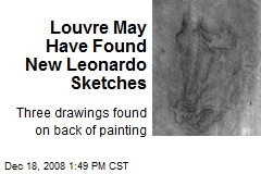 Louvre May Have Found New Leonardo Sketches