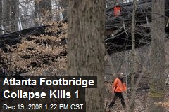 Atlanta Footbridge Collapse Kills 1