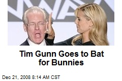 Tim Gunn Goes to Bat for Bunnies