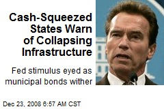 Cash-Squeezed States Warn of Collapsing Infrastructure