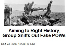 Aiming to Right History, Group Sniffs Out Fake POWs