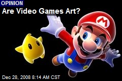 Are Video Games Art?