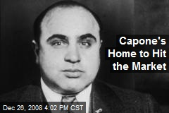 Capone's Home to Hit the Market