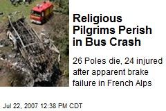 Religious Pilgrims Perish in Bus Crash