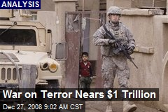 War on Terror Nears $1 Trillion