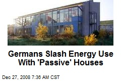 Germans Slash Energy Use With 'Passive' Houses