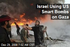 Israel Using US Smart Bombs on Gaza