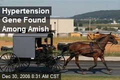 Hypertension Gene Found Among Amish