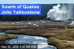 Swarm of Quakes Jolts Yellowstone