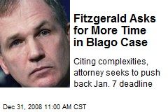 Fitzgerald Asks for More Time in Blago Case