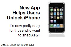 New App Helps Users Unlock iPhone