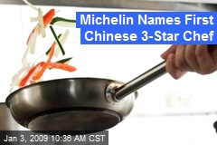 Michelin Names First Chinese 3-Star Chef