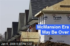 McMansion Era May Be Over