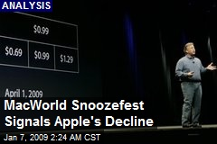 MacWorld Snoozefest Signals Apple's Decline