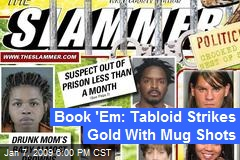 Book 'Em: Tabloid Strikes Gold With Mug Shots