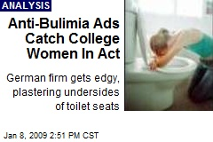 Anti-Bulimia Ads Catch College Women In Act