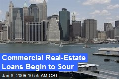 Commercial Real-Estate Loans Begin to Sour