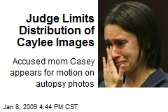 Judge Limits Distribution of Caylee Images