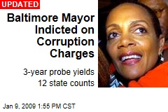 Baltimore Mayor Indicted on Corruption Charges