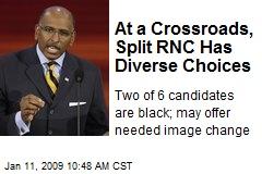 At a Crossroads, Split RNC Has Diverse Choices