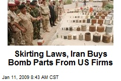 Skirting Laws, Iran Buys Bomb Parts From US Firms