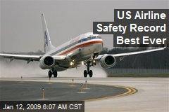 US Airline Safety Record Best Ever