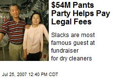 $54M Pants Party Helps Pay Legal Fees