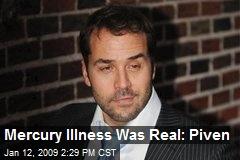 Mercury Illness Was Real: Piven