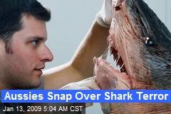 Aussies Snap Over Shark Terror