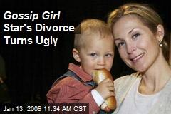 Gossip Gir l Star's Divorce Turns Ugly